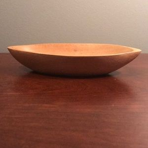 Wood Jewelry Dish